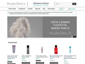 Hiuksillesi.fi