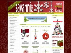 Savanni.com korukauppa